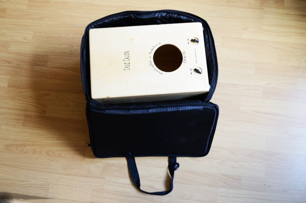 Black Cajon Bag