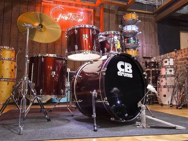 Black Drum Set CB