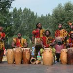 African Drums. Types and History