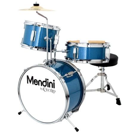 Mendini-Cecilio-Metallic-Blue-13-Inch-3-Piece