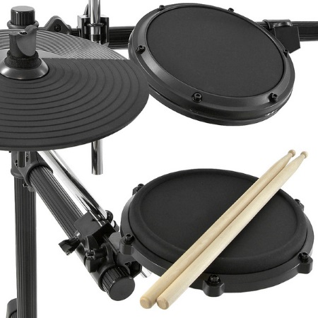 small picture of the drum set