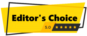 Editor's choice best pick badge