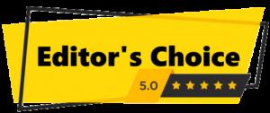 Editor's choice best pick badge
