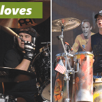 Picture of 4 drummers wearing different types of gloves