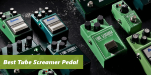 compensations of tube screamer pedals, on the picture there are displayed couple of products