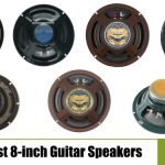 Best 8 Inch Guitar Speakers [Buyer's Guide + Reviews 2020]