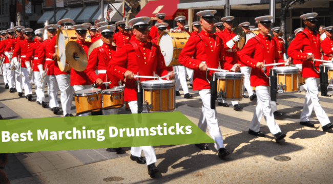 best marching snare sticks,