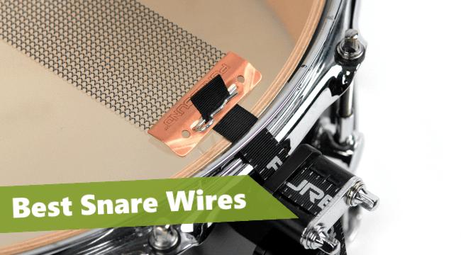 best snare wire, best snare drum strands, wires under snare drum, drum snares reviews,