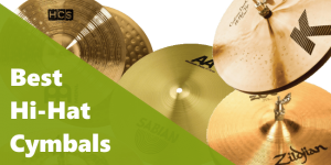 picture of 5 different models of cymbals