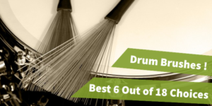 best drum brushes, drumsticks brushes, drum set brushes, nylon drum brushes